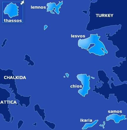 Νησιά Ανατολικού Αιγαίου